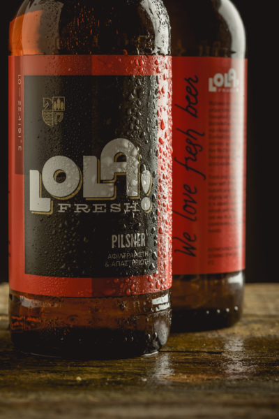 Lola Fresh Beer Bottle