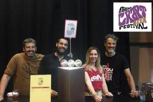 Η Ζυθοποιία Πηνειού συμμετείχε στο Athens Craft Beer Festival με τη Lola Beer!