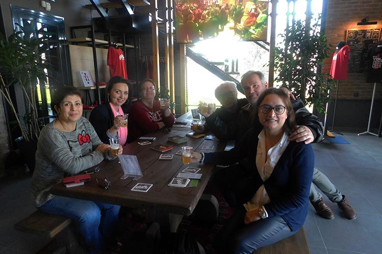 Επίσκεψη των συμμετεχόντων στο Ευρωπαϊκό πρόγραμμα URBACT Rurban Food